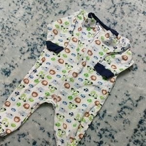0-3 Month Footie Pajamas